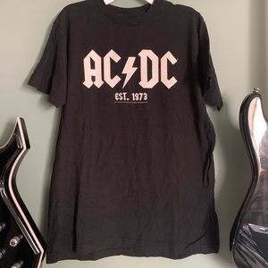 AC/DC graphic band tee